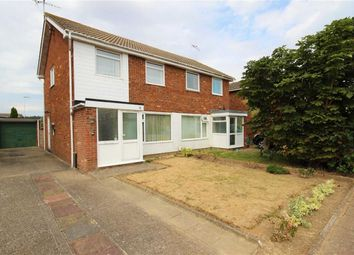 Thumbnail 3 bed semi-detached house for sale in Hudson Close, Worthing, West Sussex