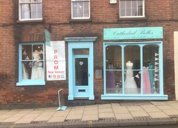 Thumbnail Retail premises for sale in College Street, Worcester