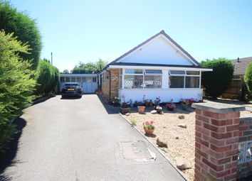 Thumbnail 3 bed detached bungalow for sale in Coombe Place, Oadby, Leicester