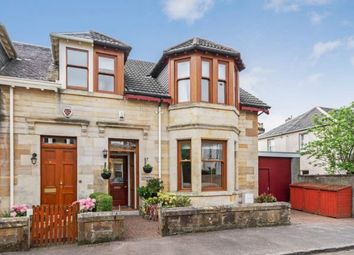 Thumbnail 3 bed semi-detached house for sale in Mathieson Street, Paisley, Renfrewshire, .