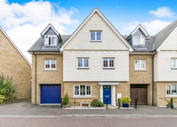 Thumbnail 5 bed link-detached house for sale in Cambie Crescent, Colchester