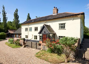 Thumbnail 7 bed farmhouse for sale in Bridge Road, Burston, Diss