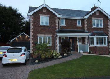 Thumbnail 4 bed detached house for sale in Parc Gwellyn, Kinmel Bay, Rhyl