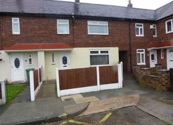 Thumbnail 3 bed end terrace house for sale in Rowfield Drive, Manchester