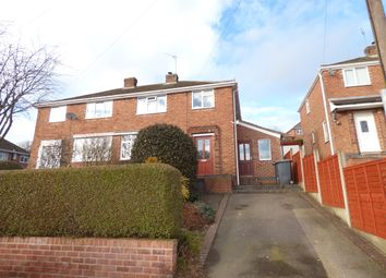 Thumbnail 3 bed semi-detached house for sale in Bryans Close, Whitwick, Coalville