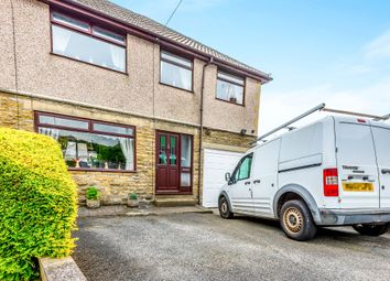 Thumbnail 4 bed semi-detached house for sale in Meadow Crescent, Wheatley, Halifax