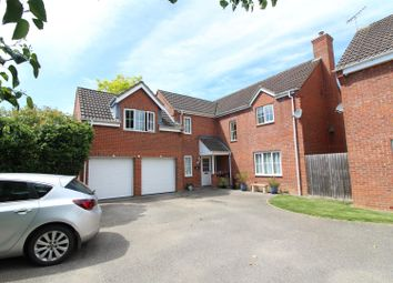 Thumbnail 4 bed detached house for sale in Chapmans Drive, Old Stratford, Milton Keynes