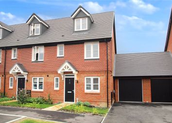 Thumbnail 3 bed end terrace house for sale in Acacia Crescent, Cresswell Park, Angmering, West Sussex