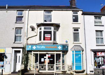 Thumbnail 3 bed flat to rent in Flat 1, Bryn Llewelyn, High Street, Tywyn, Gwynedd