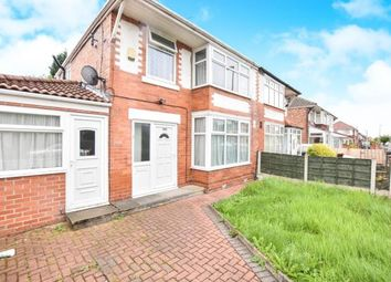 Thumbnail 4 bed semi-detached house for sale in Manley Road, Chorlton, Manchester, Greater Manchester