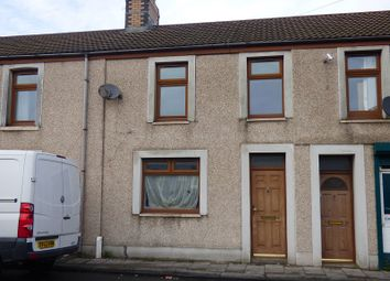 Thumbnail 2 bed terraced house to rent in Ysguthan Road, Aberavon, Port Talbot.
