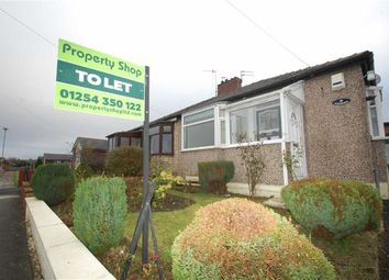 Thumbnail 1 bed semi-detached bungalow to rent in Moorhouse Avenue, Oswaldtwistle, Accrington