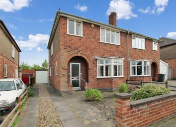 Thumbnail 3 bedroom semi-detached house for sale in Meadvale Road, Knighton, Leicester