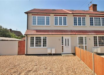 Thumbnail 4 bed end terrace house to rent in School Road, Ashford, Surrey