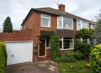 Thumbnail 3 bedroom semi-detached house for sale in Rawcliffe Drive, York