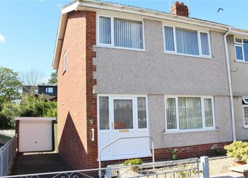 Thumbnail 3 bed semi-detached house for sale in Croftfield Crescent, Newton, Swansea