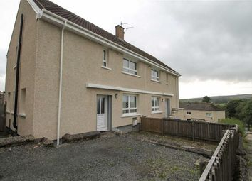 Thumbnail 3 bed semi-detached house for sale in Craiglea Crescent, Dalmellington, Ayr