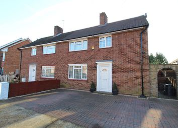 Thumbnail 3 bed semi-detached house for sale in Portland Crescent, Feltham/Ashford Borders