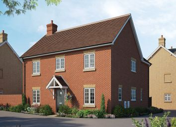 Thumbnail 4 bed detached house for sale in New Cardington, Condor Boulevard, Bedford