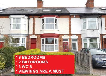 Thumbnail 6 bedroom town house for sale in Baden Road, Leicester