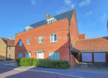 Thumbnail 4 bed terraced house for sale in Kirk Way, Colchester