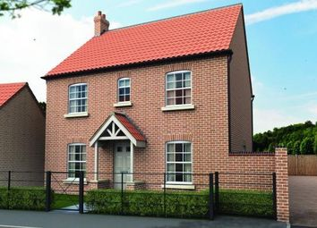 Thumbnail 4 bed detached house for sale in The Grange, Off Heath Road, Scothern, Lincolnshire