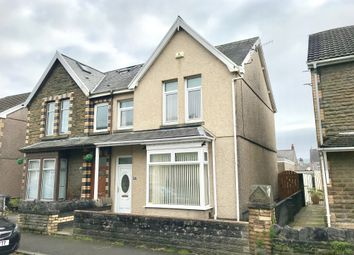 Thumbnail 3 bedroom semi-detached house for sale in Cardonnel Road, Skewen, Neath