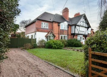 Thumbnail 4 bed end terrace house for sale in Tattenhall Road, Tattenhall, Chester