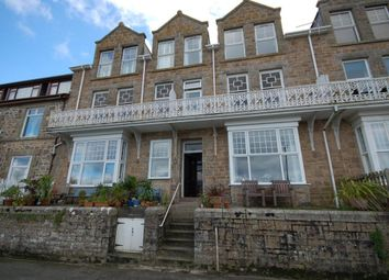 Thumbnail 1 bed flat to rent in Draycott Terrace, St. Ives, Cornwall