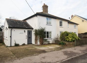 Thumbnail 3 bed cottage for sale in High Street, Castle Camps, Cambridge