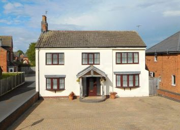 Thumbnail 4 bed detached house for sale in Park Road, Willaston, Nantwich