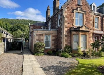 Thumbnail 2 bed flat to rent in Lower Woodlee, Innerleithen Road, Peebles