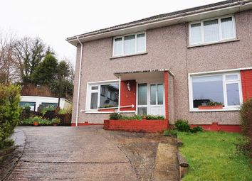 Thumbnail 2 bed flat for sale in Derllwyn Close, Tondu, Bridgend, Bridgend County.