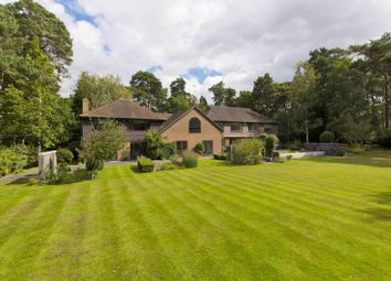 Thumbnail 6 bed detached house for sale in West Road, St. Georges Hill, Weybridge
