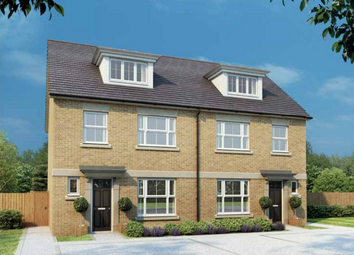 Thumbnail 4 bed town house for sale in Priory Mews, Tickford Street, Newport Pagnell, Buckinghamshire