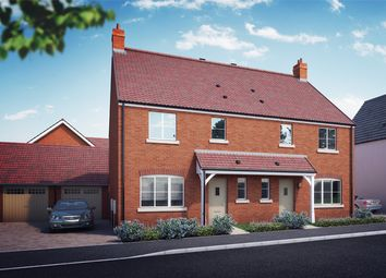 "Thumbnail 3 bed property for sale in ""The Hartley"" at 1 Cowslip Way, Off Wotton Road, Charfield"