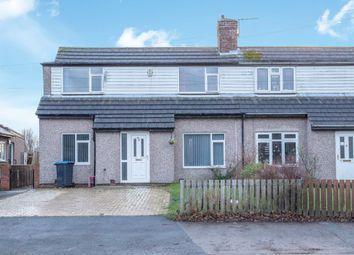 Thumbnail 2 bed semi-detached house for sale in South End, High Pittington, Durham