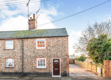 Thumbnail 2 bed end terrace house for sale in Oak Street, Feltwell, Thetford