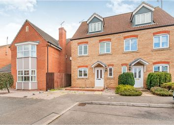Thumbnail 3 bedroom semi-detached house for sale in John Bends Way, Parson Drove, Wisbech