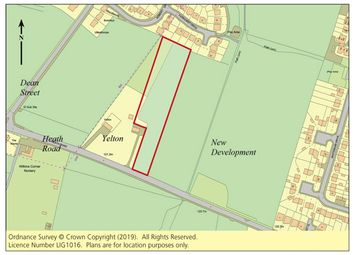 Thumbnail Equestrian property for sale in Land Heath Road, Coxheath, Maidstone, Kent