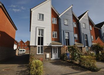 Thumbnail 4 bed town house to rent in George Stewart Avenue, Faversham