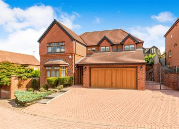Thumbnail 4 bed detached house for sale in Cricketers View, Shadwell, Leeds