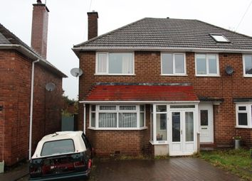Thumbnail 3 bed semi-detached house for sale in Brackenfield Road, Great Barr, Birmingham