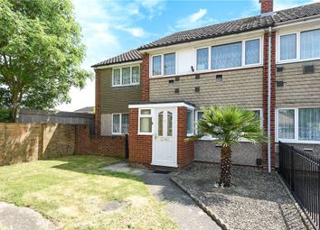 Thumbnail 4 bedroom end terrace house for sale in Mountsfield Close, Staines-Upon-Thames, Surrey