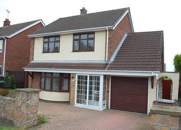 Thumbnail 3 bed detached house for sale in Woodlands Drive, Shepshed, Leicestershire