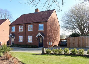 Thumbnail 3 bed semi-detached house to rent in The Crescent, Drayton, Norwich