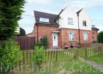 Thumbnail 3 bed semi-detached house for sale in Oundle Road, Thrapston, Kettering, Northamptonshire.