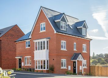 "Thumbnail 3 bed semi-detached house for sale in ""The Portland"" At Deardon Way, Shinfield, Reading RG2, Shinfield,"