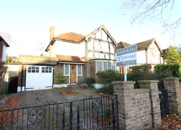 Thumbnail 3 bed detached house for sale in Hurst Road, East Molesey