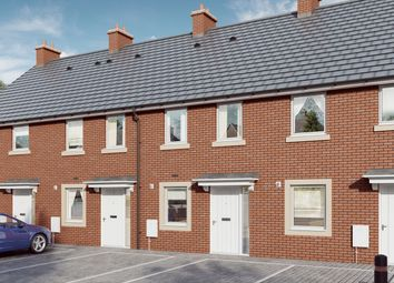 "Thumbnail 2 bed terraced house for sale in ""The Willow"" at Mill Lane, Bitton, Bristol"
